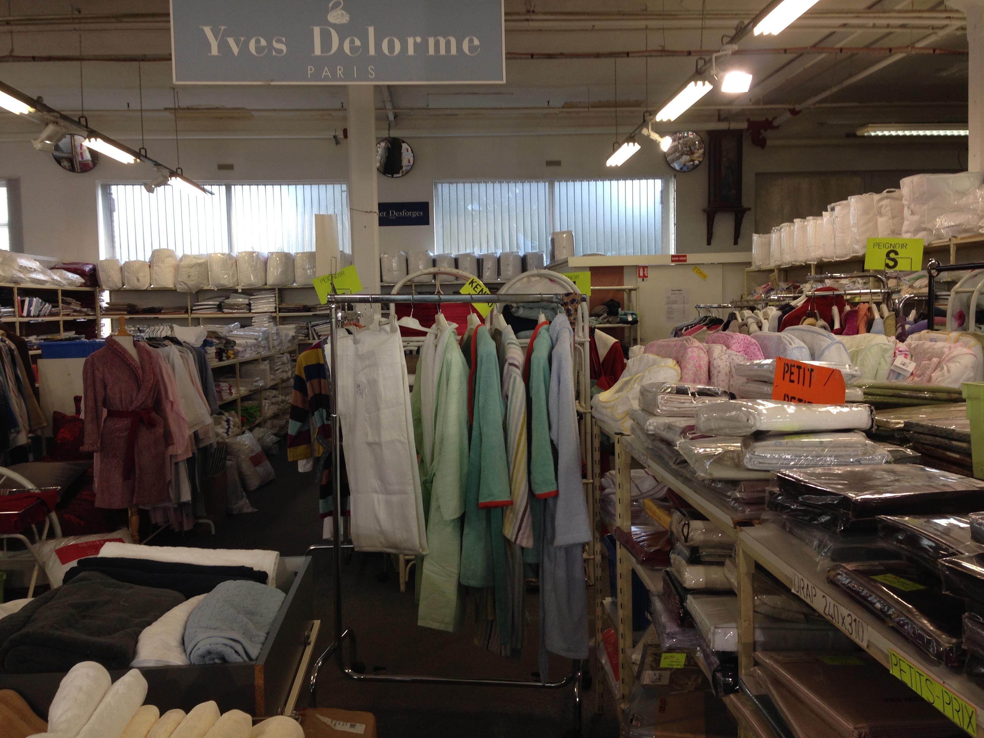 Yves delorme outlet magasin d 39 usine - Linvosges magasin d usine ...