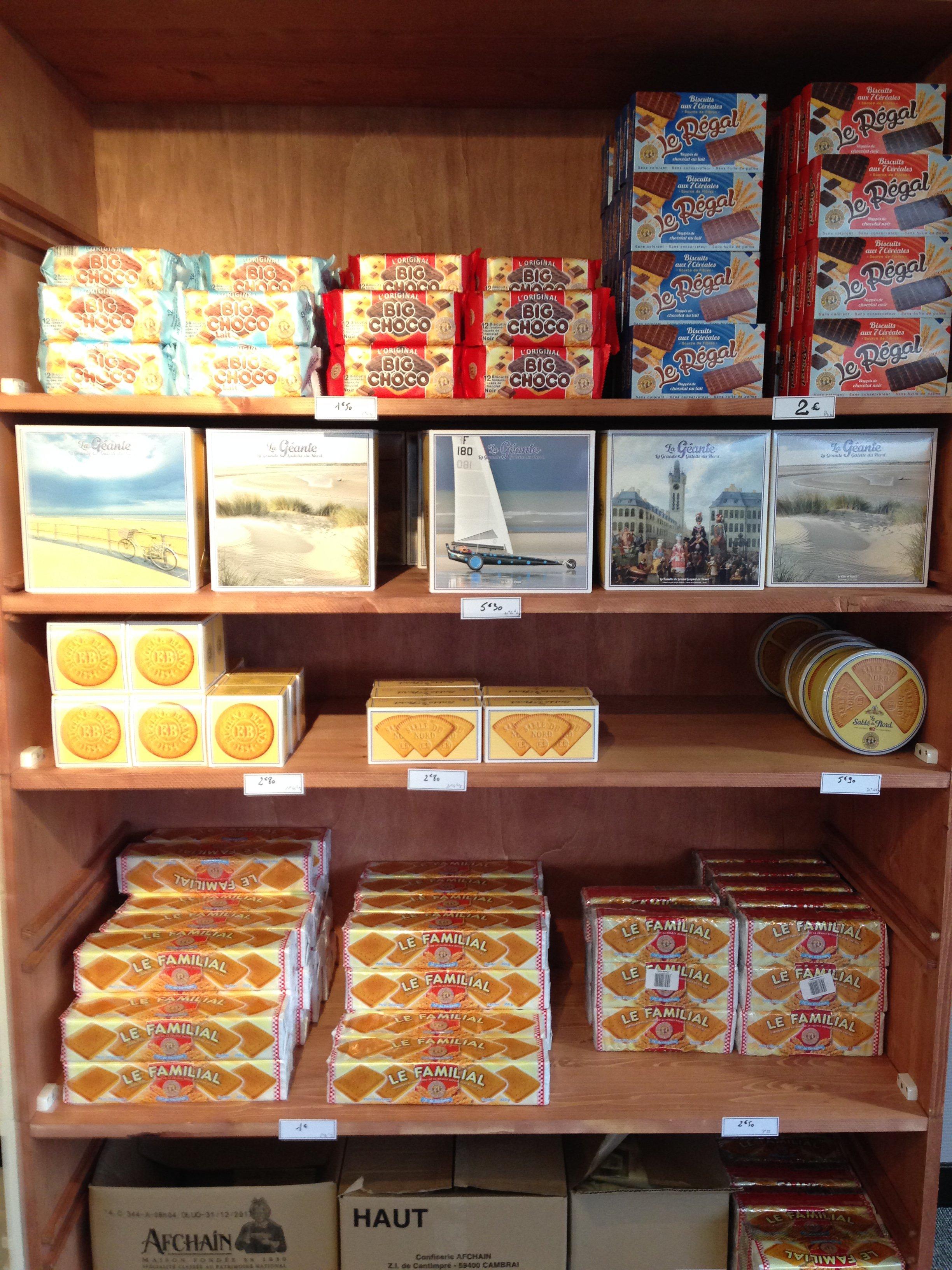 Union biscuits magasin d 39 usine - Comptoir europeen de la confiserie marcq en baroeul ...