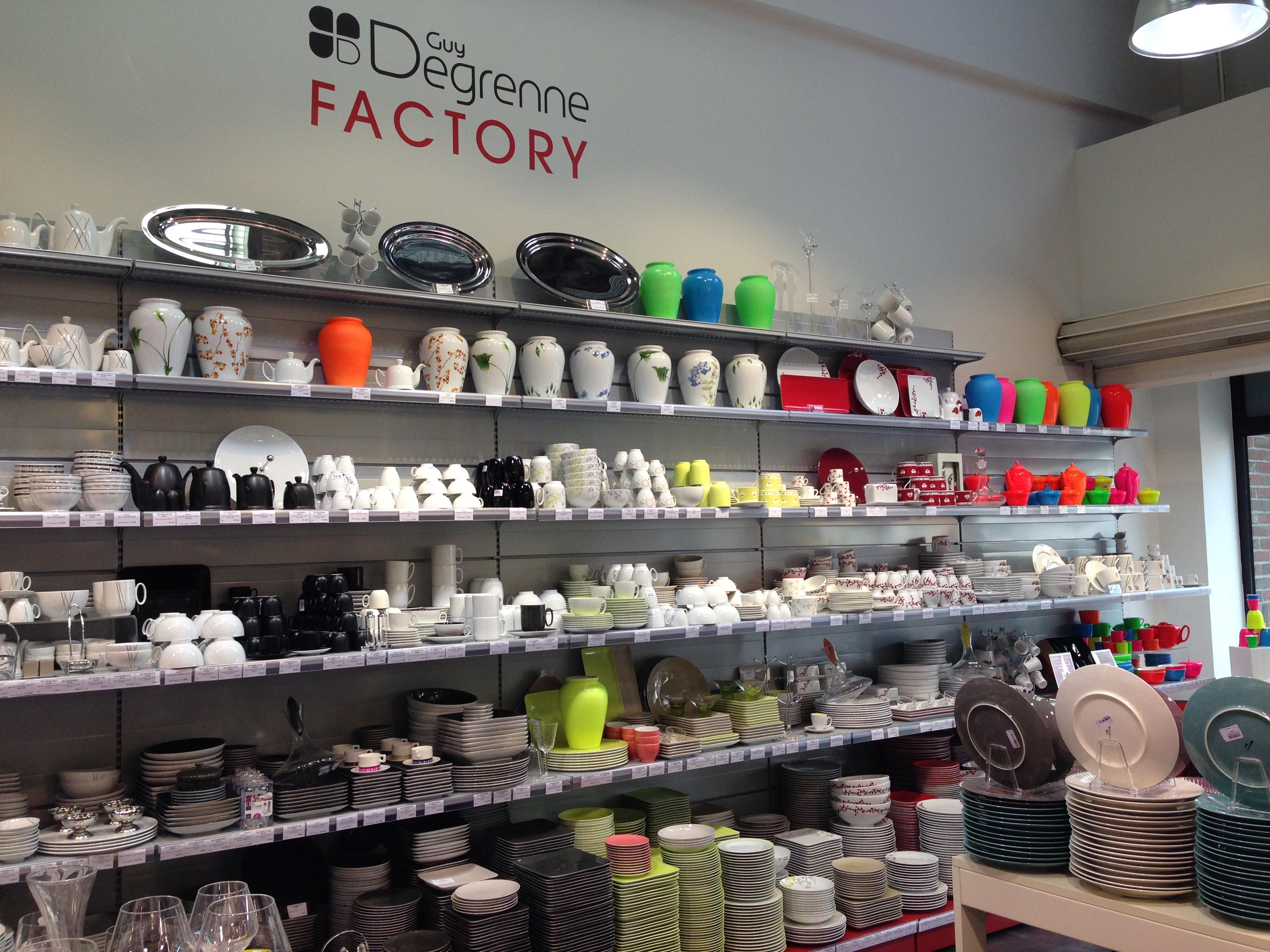 guy degrenne factory magasin d 39 usine. Black Bedroom Furniture Sets. Home Design Ideas